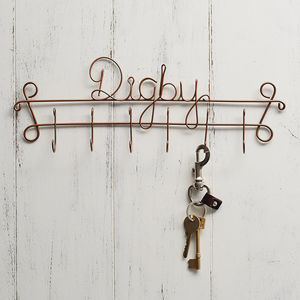 Personalised Pet's Name Lead Holder