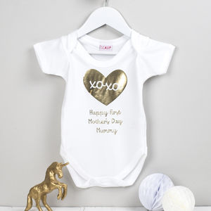 First Mother's Day Baby Grow - shop by price