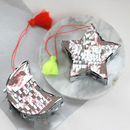 Christmas Tree Moon And Star Pinata Decoration