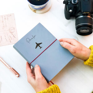 Personalised Journal Travel Gift