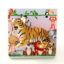 Children's Safari Bedroom Tiger Light Switch