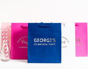 Personalised Luxury Gift / Party Bags - party bags and ideas