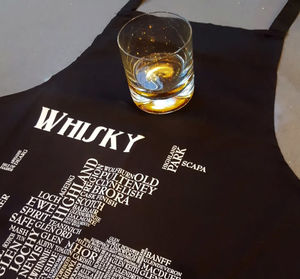 Whisky Map Apron - view all new