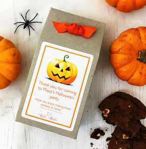 Halloween Chocolate Chip Cookie Mix Party Bag