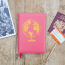 Personalised Leather Travel Journal