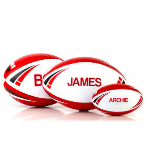 Personalised Rugby Ball - outdoor toys & games