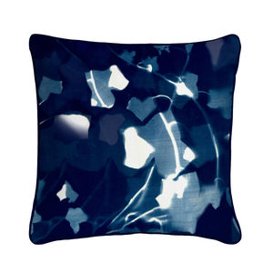 Ivy Cyanotype Botanical Silk Cushion