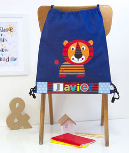 Personalised Childrens Tiger Bag - bags, purses & wallets
