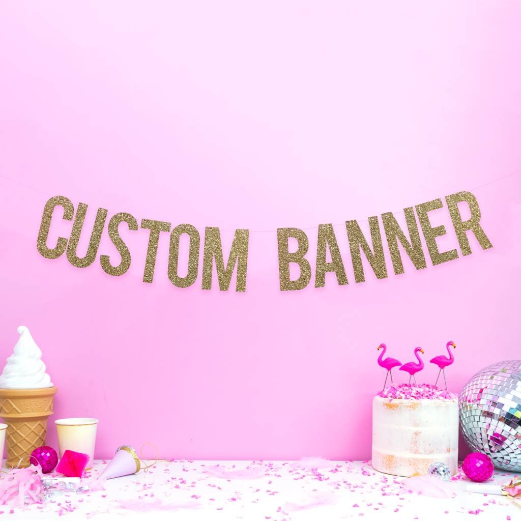 custom party banner personalised weddings, hen party by all her ...