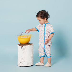 Birds Summer Romper Onesie