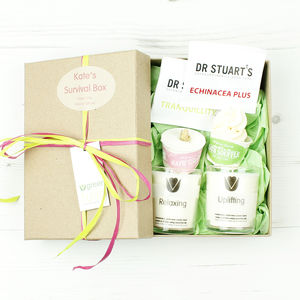 Personalised Survival Box - gift sets