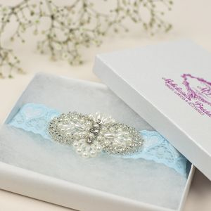 Lux 'Simply Chic' Bridal Garter