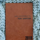 Personalised 2018 Diary In Luxury Leather