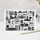 Illustrated Oxford Greeting Card