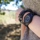 Wooden Odyssey Crystal Eco Watch