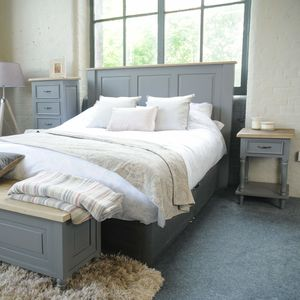 Lille Grey Painted Headboard - furniture