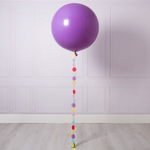 Pastel Rainbow Circle Tail Giant Balloon