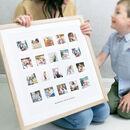 Big Memories, Tiny Photos Mothers Day Print