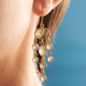 Jellyfish Drop Earrings - jewellery