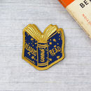 Readers Gonna Read Embroidered Iron On Patch