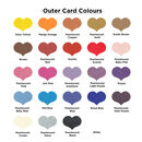 Outer card colours