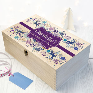 Personalised Traditional Christmas Eve Box - new in home