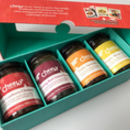 Christmas Chutneys Gift Box For Cheese