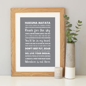 Disney Inspirational Quotes Print Or Canvas - typography