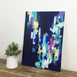 'Inlustris' Abstract Original Handpainted Canvas - paintings