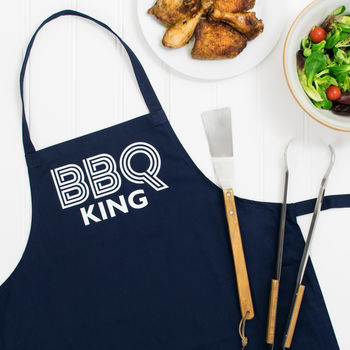 Bbq King Fathers Day Apron