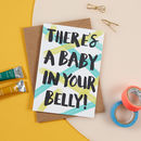 Baby Belly Card