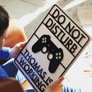 Personalised Do Not Disturb Gaming Sign