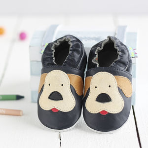 Puppy Soft Leather Baby Shoes
