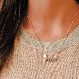 Sterling Silver Love Dove Necklace