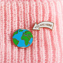 You Are Here Earth Pin Badge