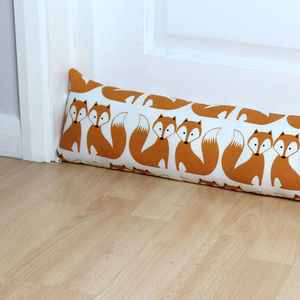 Foxy Fox Draught Excluder - door stops & draught excluders