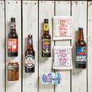beer hamper with delicious treats gift box