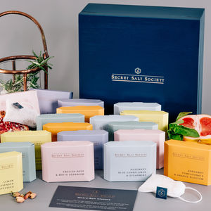 Mineral Infusion Tea Chest Collection - for grandmothers