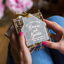 Personalised Our First Home Keepsake Decoration