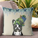 French Bulldog Cushion, The Milliners Dogs