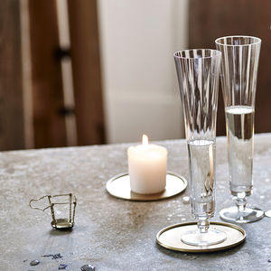 Elsa Fluted Champagne Glass Set Of Two