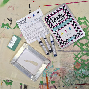 Children's Screen Printing Craft Kit