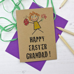 Grandad Easter Card