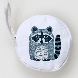 Rocky Raccoon Coin Purse