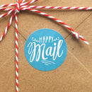 'Happy Mail' Mail Day Gift Stickers