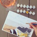 Beach Hut Painting By Numbers Kit