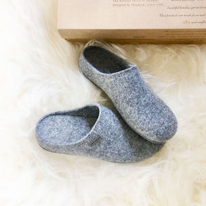 Men's Felt Slippers - shoes & boots