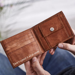 Men's Simple Leather Wallet - mens
