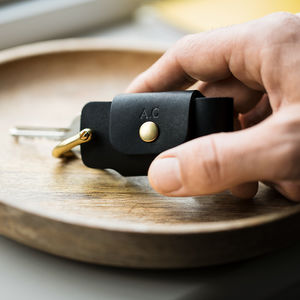 Personalised Leather Key Case - best gifts for him