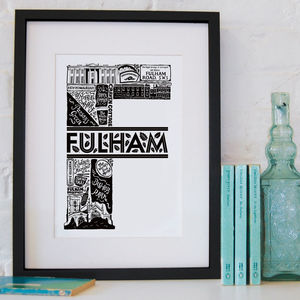 Fulham Print - new in home